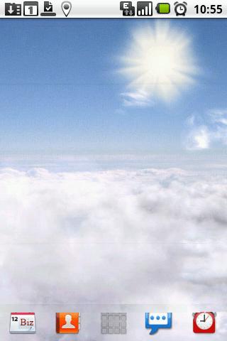 Blue Skies Live Wallpaper