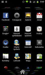 Seznam aplikací