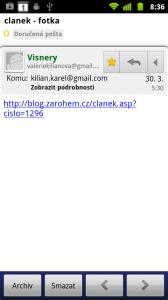 Patrně nejlepší poštovní klient pro práci se schránkou na Googlu