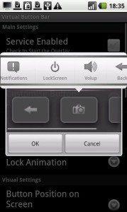 Virtual Button Bar