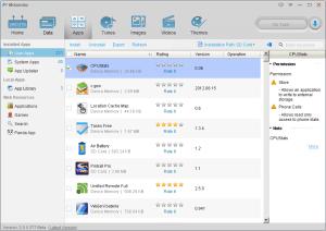 Aplikace nainstalované uživatelem