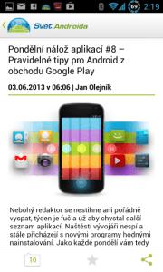 Aplikace Svět Androida dostala parádní facelift Screenshot_2013-06-03-14-19-06-180x300