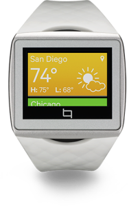 Qualcomm představil konkurenta pro Samsung Galaxy Gear – chytré hodinky  Qualcomm_toq_white-188x300