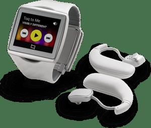 Qualcomm představil konkurenta pro Samsung Galaxy Gear – chytré hodinky  Qualcomm_toq_white_headset-300x255