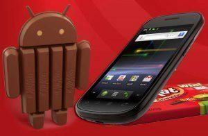 Na Nexus S dostanete Android 4.4 KitKat neoficiální cestou