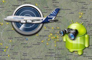Sledujte letecký provoz na celém světě ve svém telefonu!