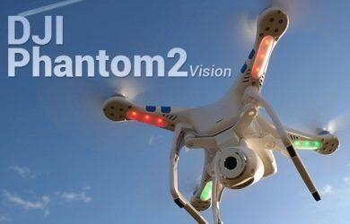 DJI Phantiom 2 Vision - náhledový obrázek