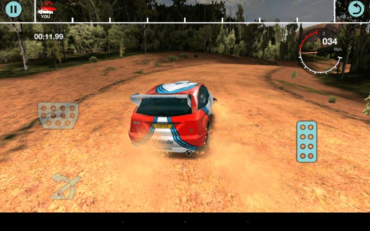 Colin McRae Rally - zatáčka