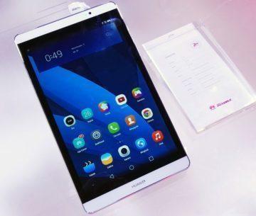 Huawei MediaPad M2 bílý