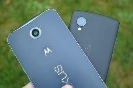Nexus 6 vs. Nexus 6 srovnání - TOP