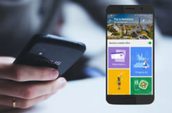 google android aplikace cestování