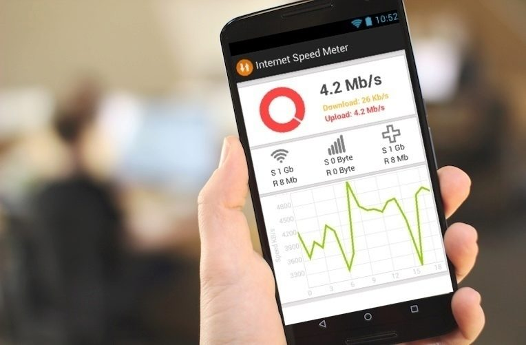 internet speed meter rychlý tip