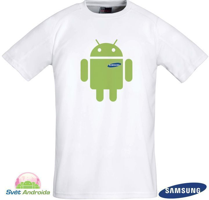 Android with Samsung heart (Luk Skovajsa)