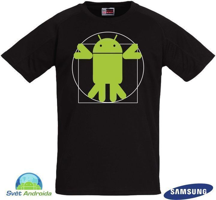 Vitruvian Android - proporce Androida(David Dryml)