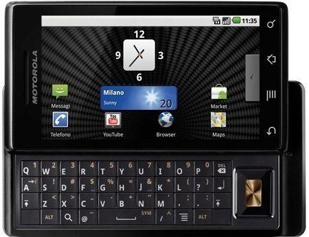 Motorola-Milestone-android-2.1