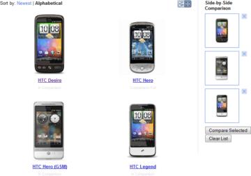 katalog android telefonů
