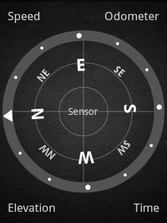 Režim kompas