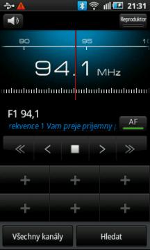 Rádio s RDS