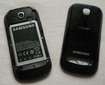 Baterie zabírá významnou část těla telefonu