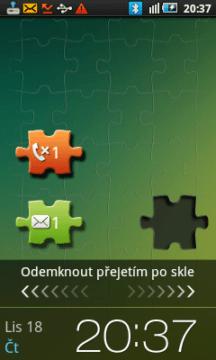 Odemknutí skrze puzzle