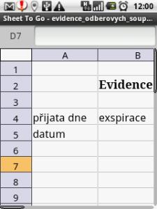 Dokument Excelu 2010