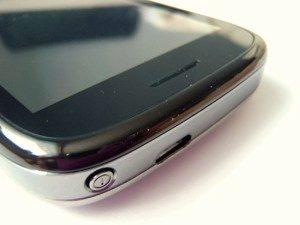 Horní hrana telefonu Huawei U8100