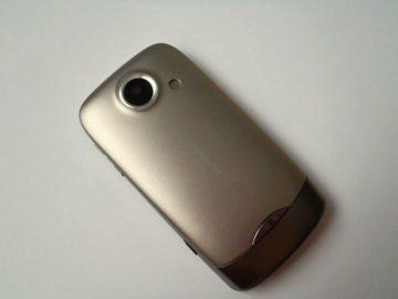 Zadní strana telefonu Huawei U8100