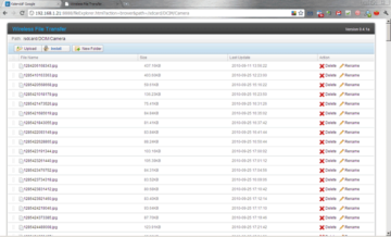 Pro práci se soubory vystačíte s webovým prohlížečem