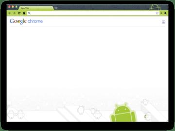 Android téma pro Chrome