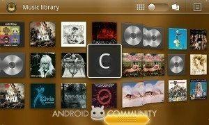 Knihovna přehrávače pro Honeycomb
