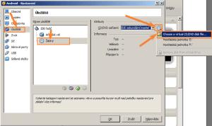 Připojení souboru ISO jako disku v optické mechanice