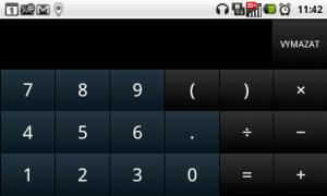 Kalkulačka na šířku