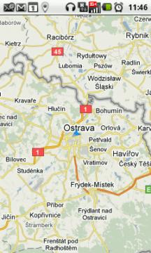 Mapy Google v telefonu