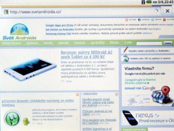 Výchozí webový prohlížeč