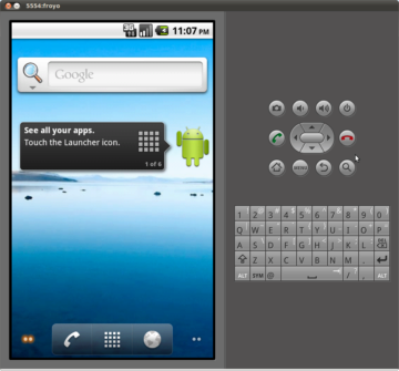 Screenshot-emulator