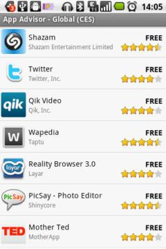 App Advisor doporučí zajímavé programy