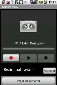 Jednoduchý diktafon