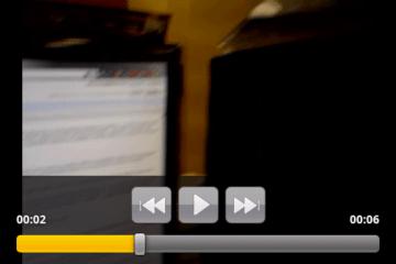 Videopřehrávač je sice jednoduchý, zvládne ale filmy v DivX a Xvid