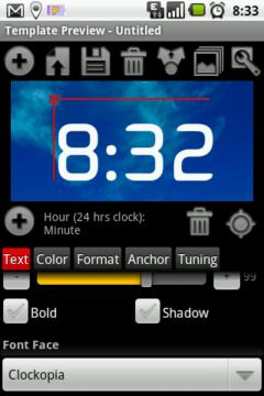 Návrh designu hodin je jednoduchý