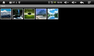 PhotoBrowser nabízí jen základní funkce