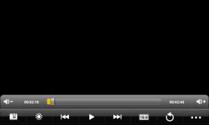 Videopřehrávač si poradí s formáty Xvid a MP4