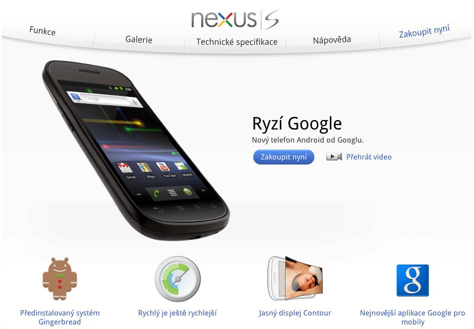 nexus s web