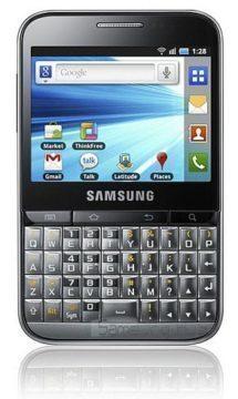 Samsung Galaxy Pro s QWERTY klávesnicí