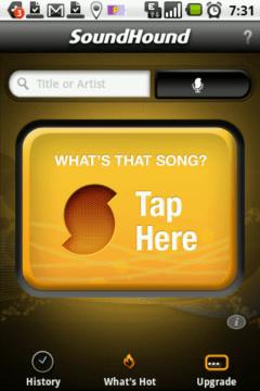 S identifikací můžete začít tapnutím na žluté tlačítko
