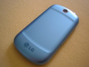 lg optimus me back