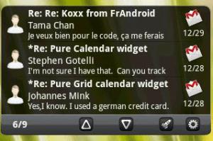 Pure messenger widget