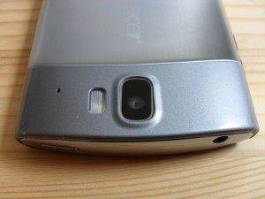 Čočka fotoaparátu s přisvětlovací diodou