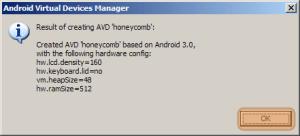Všechno se povedlo, virtuální Android je připraven