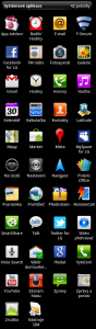 Kompletní seznam všech nainstalovaných aplikací