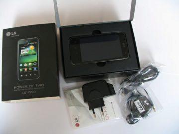 Příslušenství telefonu LG Optimus 2X